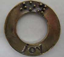 picture of Affirmation Charm Bronze: Joy