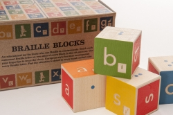 picture of Braille ABC Blocks & Canvas Bag