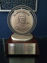 Photo of the Bolotin Award